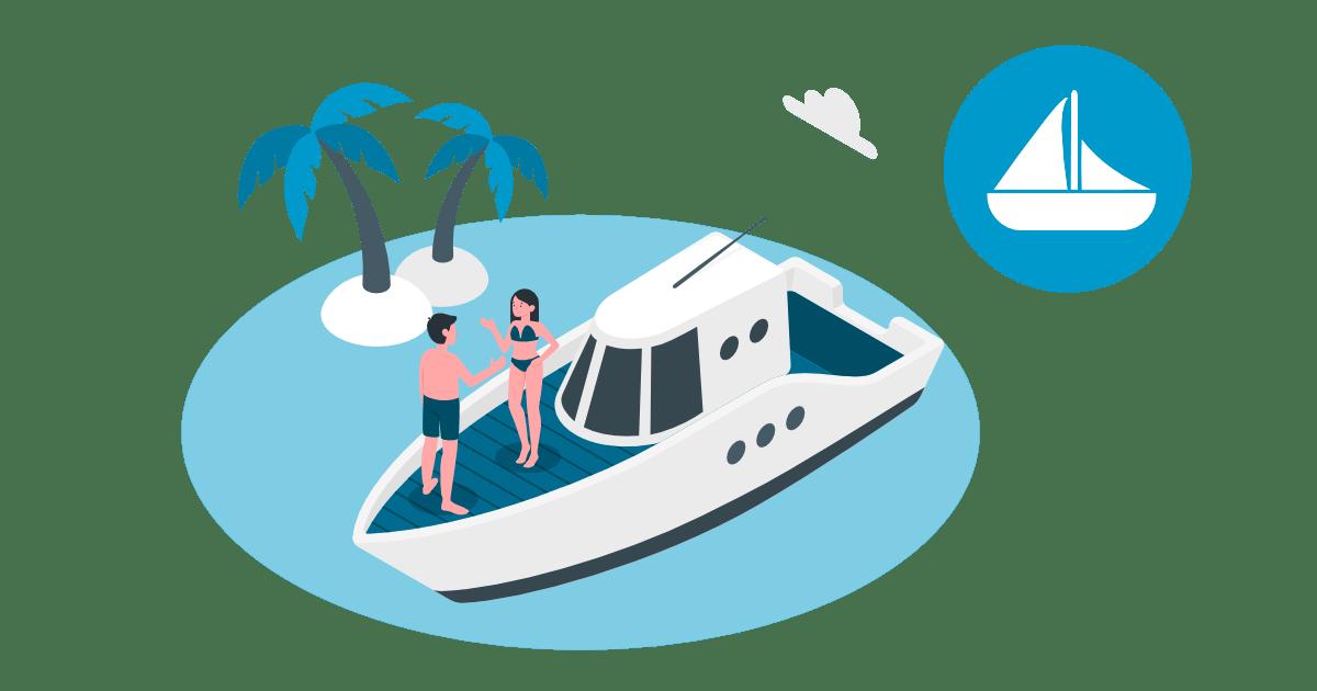 Aplikacija za zavarovanje plovil