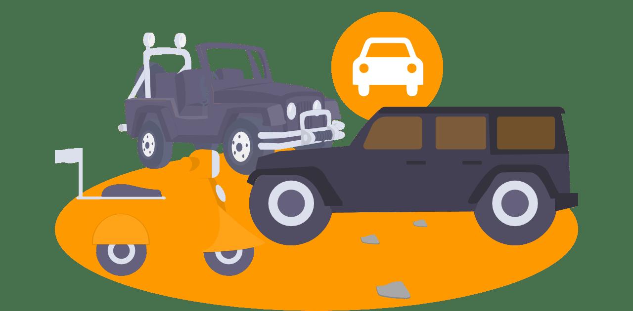 Aplikacija za zavarovanje vozil